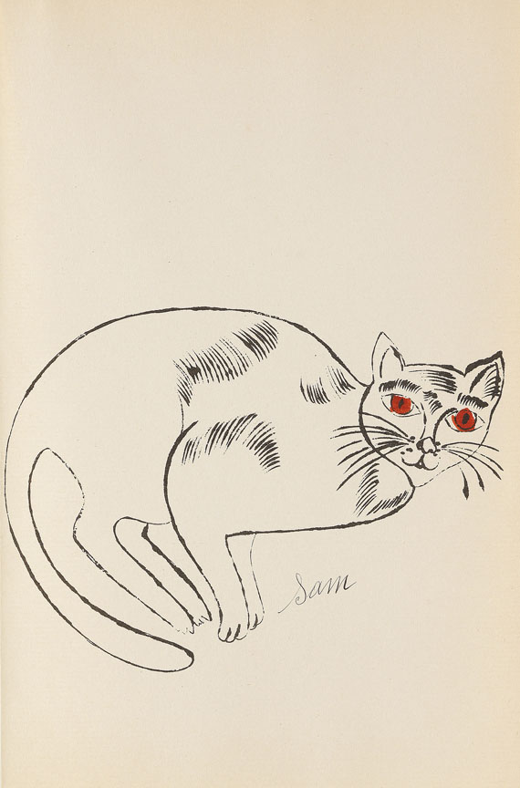 Andy Warhol - 25 Cats name[d] Sam and one Blue Pussy - Autre image