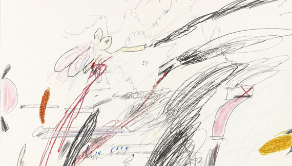 Cy Twombly - Untitled (Notes from a Tower) - Autre image
