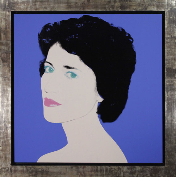 Andy Warhol - Portrait of a Lady - Image du cadre