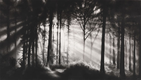 Robert Longo - Ohne Titel (In the Garden, et in arcadia ego)